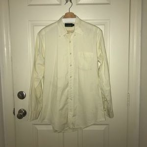 J. Crew Outfitters Yellow Button-Down Shirt